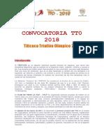 Convocatoria TTO 2018