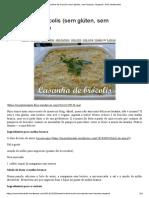 Lasanha de Brócolis (Sem Glúten, Sem Lactose, Vegana) _ SOS Intolerante