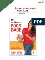 Dossier El Método Food Babe - Vani Hari - Edaf