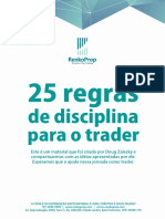 25 Regras de Disciplina Do Trader