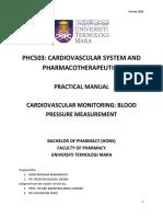Practical Manual Phc503-VER2014