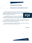 Comunicado de Prensa Ancap