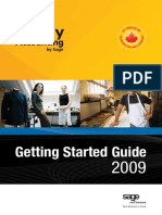 2009 Getting Started Guide English