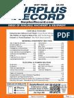 OCTOBER 2018 Surplus Record Machinery & Equipment Directory