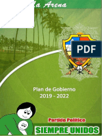 plan 2019 - 2022 LA ARENA
