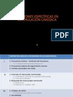 FUNCIONES ESPECÍFICAS EN ESTIMULACIÓN CARDIACA