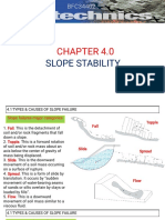 CHAPTER 4 Slope Stability (1.5.18)