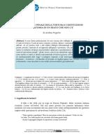 REPRESSIONE PENALE DELLA TORTURA E COSTITUZIONE