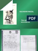 Salvador Mazza sus estudios secundarios