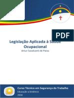 Caderno SEG Legislação Aplicada à Saúde Ocupacional 2018.2 ETEPAC