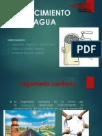 Abastecimiento de Agua - Semanas 1 y 2