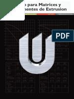 Catalogo Aceros Para Matrices y Componentes de Extrusion