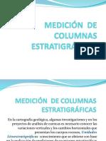 Medicion de Columnas Estatigraficas