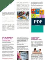 Brochure Rol Del Docente Sor Emmanuela