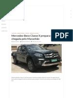 Mercedes-Benz Classe X Prepara Sua Chegada Pelo Maranhão