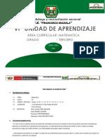 Vi Unidad Didáctica Matematica 2018