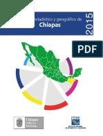 Anuario Estadistico Chiapas 2015