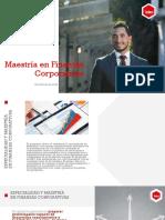 Maestria Finanzas Coorporativas Documento Promocional