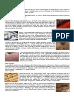 Fibras Textiles y ejemplos