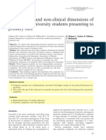 Skinner, Et All- Cannabis Use and Non-clinical Dimensions of Psychosis in University Students Presenting to Primary Care (2011)