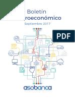 Boletín Macroeconómico - Septiembre 2017