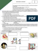 DEMOSTRANDO LO APRENDIDO - 1°