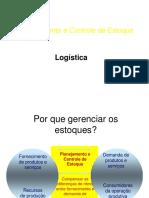 PGE 4 Planejamento e Controle de Estoques