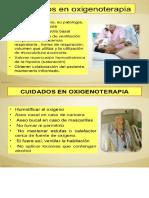 Cuidados de La Oxigenoterapia