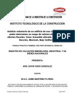 Tpt Arq. David Haro Gonzalez CD