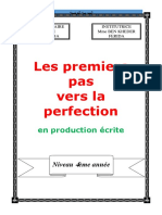 livre de production