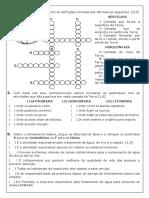 AVALIAÇÃO CIÊNCIAS - 6° ANO_IIIunidade