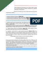 Brochour N 26 Declaraciones Informativas 2006