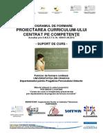 Curs Proiectarea Curriculum-ului Centrat Pe Competente-Dela72