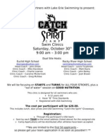 LE Catch the Spirit Flier