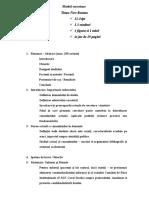 Model- Proiect de Cercetare