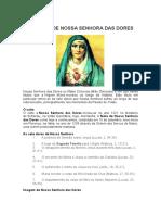 História de Nossa Senhora Das Dores
