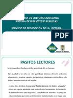 Presentacion Pasitos Lectores