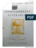 Confidencias Literarias, de Juan Eduardo Cirlot