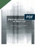 Aci 211.1 Proporcionamiento de Mezclas