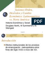 02 - Orden Politco y Economia - Conlusiones de Orden Desorden y Cambio Economico - Alfredo Marun