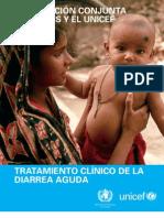 Declaracion Conjunta UNICEF OMS