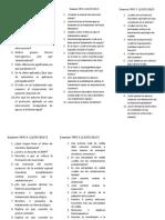 Examenes articulos