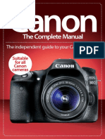 Canon the Complete Manual 3rd ED - 2016 UK