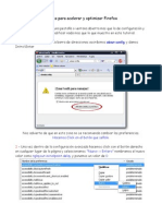 Trucos Para Acelerar Y Optimizar Firefox