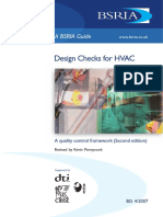 Design Checks for Hvac a Quality Control Framework Second Edition (Sample) Copy