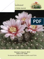 The Gymnocalycyum Online Journal