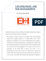 Paper on Strategic and Change Management-converted