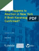 9 12 18 Kavanaugh Policy Brief