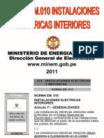 COMENTADA INSTALACIONES ELECTRICAS