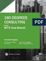 180 Degrees Consulting - BITS Goa